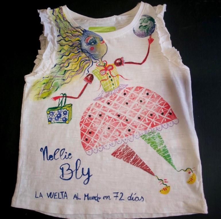 camiseta de algodón orgánico talla 2-4 años
